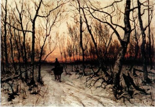 К вечеру. 1876 Национальный художественный музей Республики Беларусь , Минск