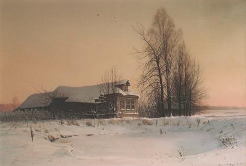К . Мирошник, Н . Кургузова-Мирошник Старый дом в селе Медведеве. 1999