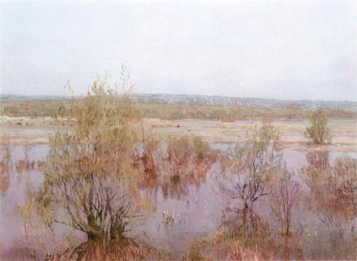 Май . В заливных лугах . 1980