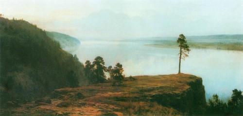Над Волгой. 1948-1952 Львовская картинная галерея