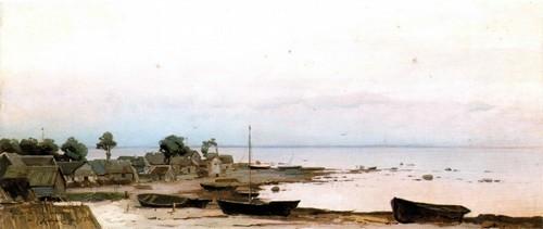 Окрестности Петербурга . Лахта . 1881 Государственный Русский музей,