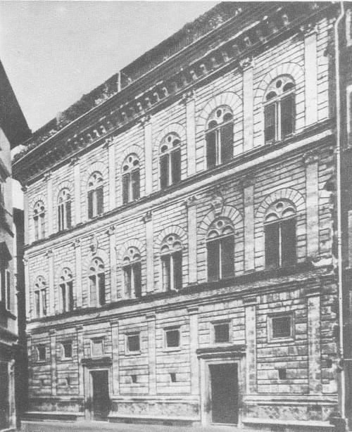 Палаццо Ручел-даи во Флоренции. 1446—1451 г.
