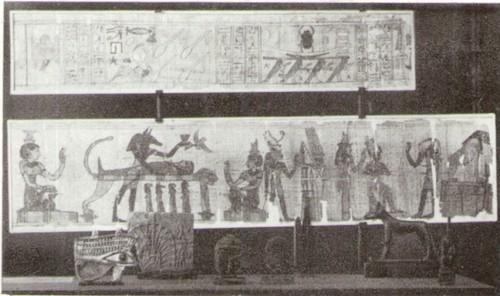 Папирус, книга мертвых, 2 тыс. до н.э.