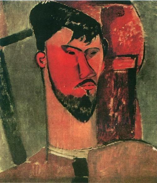 Портрет Анри Лорна . 1915