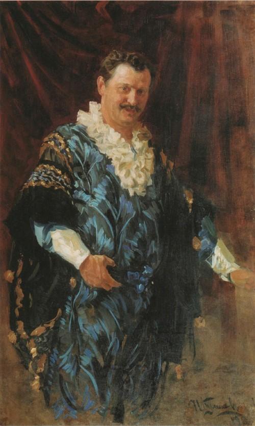 Портрет А. Л . Дурова . 1911