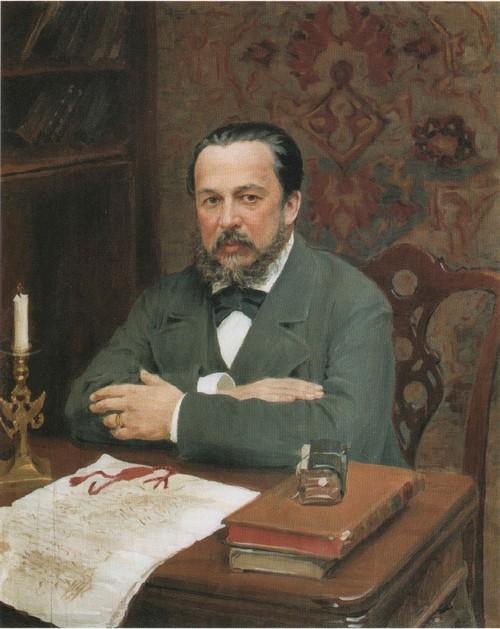 Портрет А. С . Уварова. 1916
