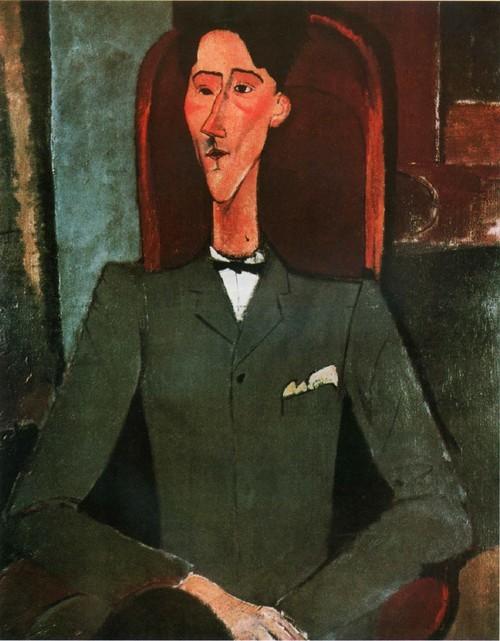 Портрет Жака Кокто. 1916 Художественный_музей университета Принстон, Нью-Иорк