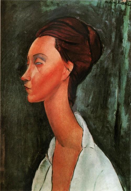 Портрет Люнии Чеховской. 1919 Музей современного искусства, Париж
