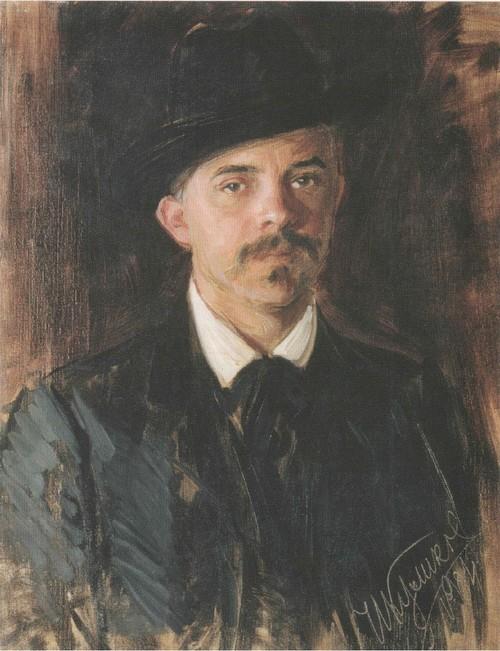 Портрет Л.В. Попова. 1900