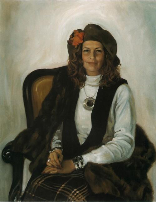 Портрет Маргарет. 1993
