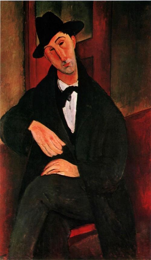 Портрет Марио Варвольи. 1919-1920 Частное собрание