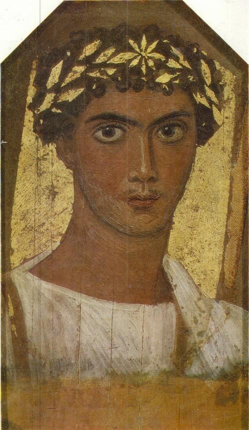 Портрет юноши в белой одежде