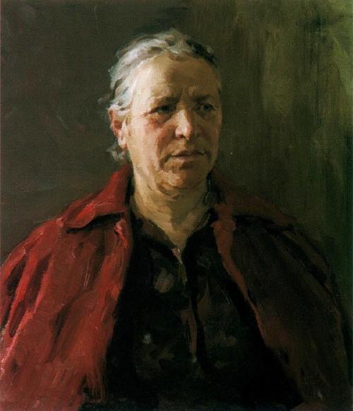 Портрет матери Федора Шапаева 1964