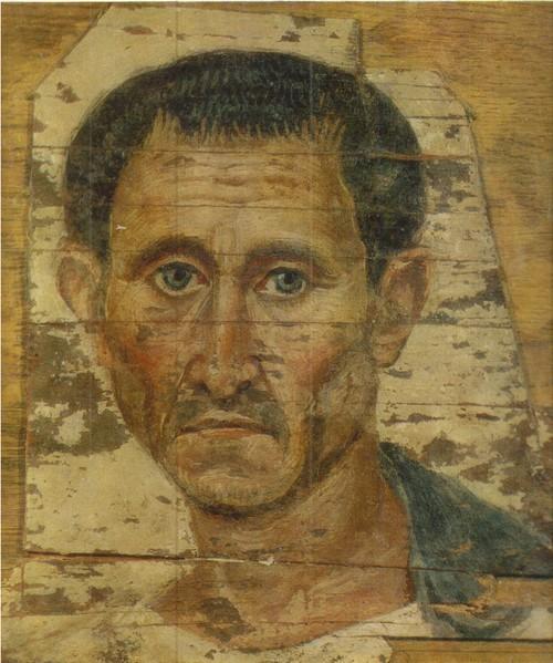 Портрет мужчины в плаще