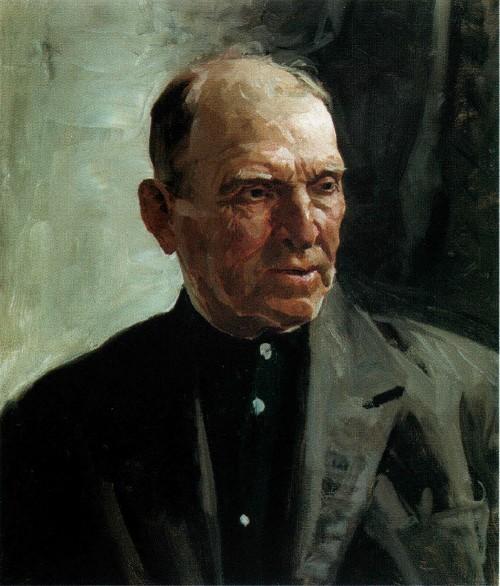 Портрет отца Федора Шапаева 1971