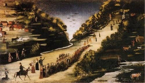 Праздник на реке Цхенисцкали
