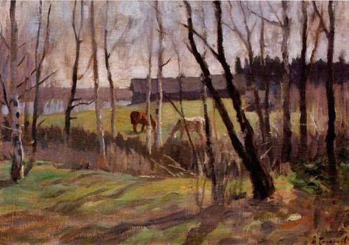 Ранняя весна. 1900-1910 Волгоградский областной музей изобразительных искусств