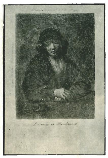 Рембрандт Портрет старушки