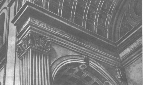 Сант Андреа в Мантуе. Деталь фасада