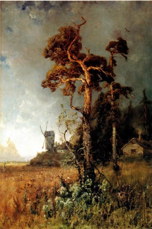 Сосны. 1896 Нижегородский государственный художественный музей
