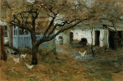Старая яблоня. 1996