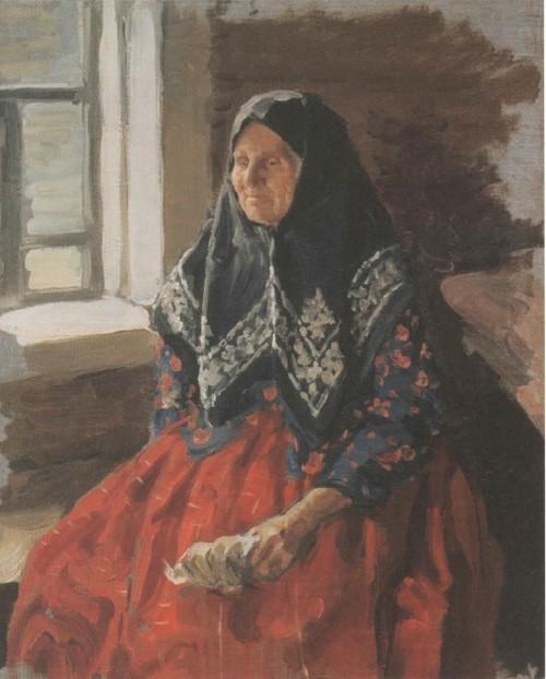 Старушка из Нежиловки. 1898