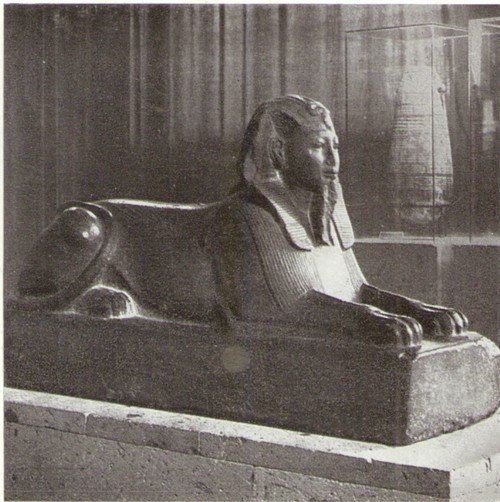 Статуя Сфинкса Аменхотепа III, II тыс. до н. э.