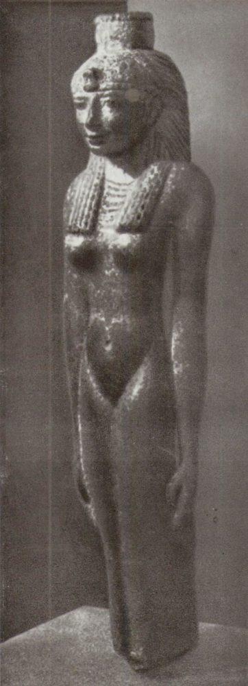 Статуя царицы 1 тыс. до н. э.