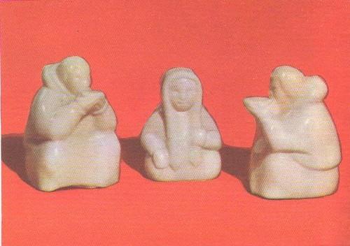 Сценки из народного быта. Моржовая кость. Тобольск