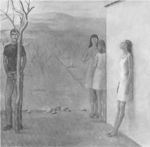 С. Мурадян. Саженцы Масло. 1970.