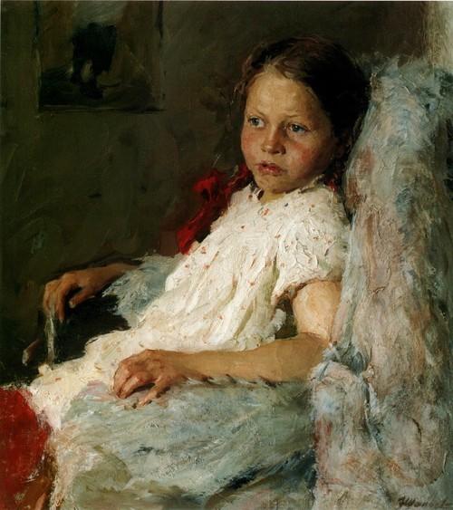 Портрет дочки. 1959
