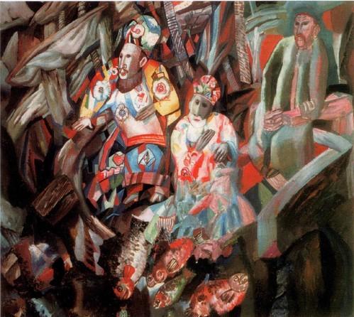 Филонов Восток и Запад . 1912-1913