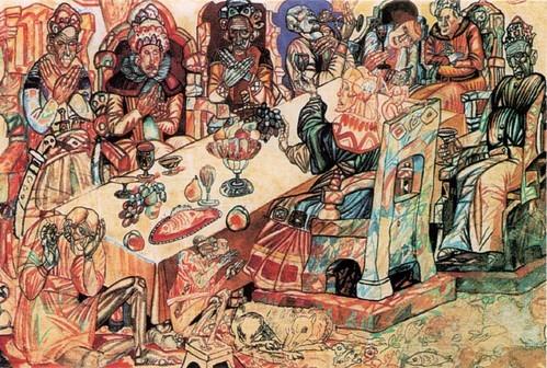 Филонов Пир королей . 1912