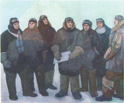 Ф. Решетников. Первые Герои Советского Союза. Масло. 1976.