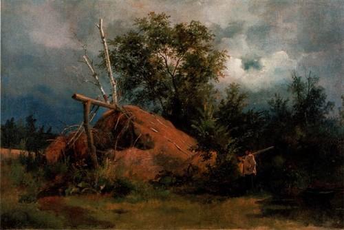 Шалаш. 1861