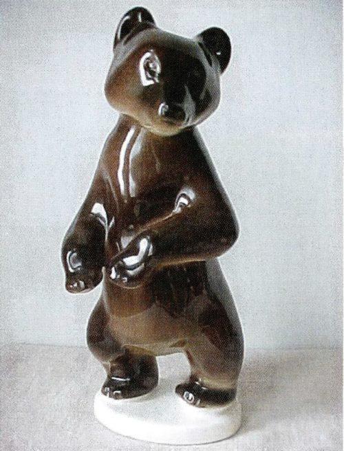 Бурый медведь, 26 см ск. Ризнич И.И.