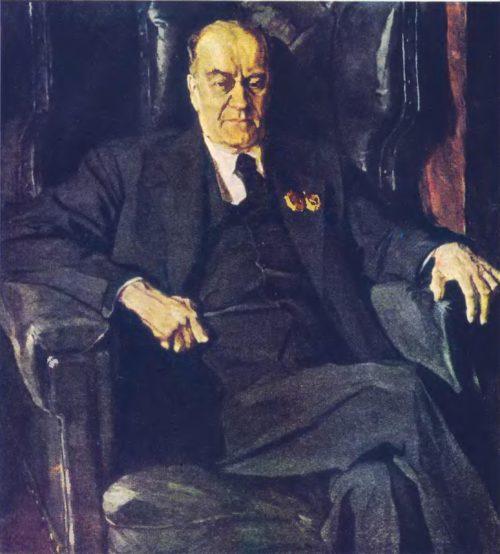 Корин Портрет Леонидова