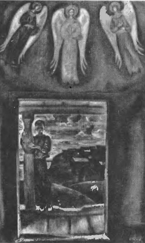 В. Попков. Северная часовня. Масло. 1973.