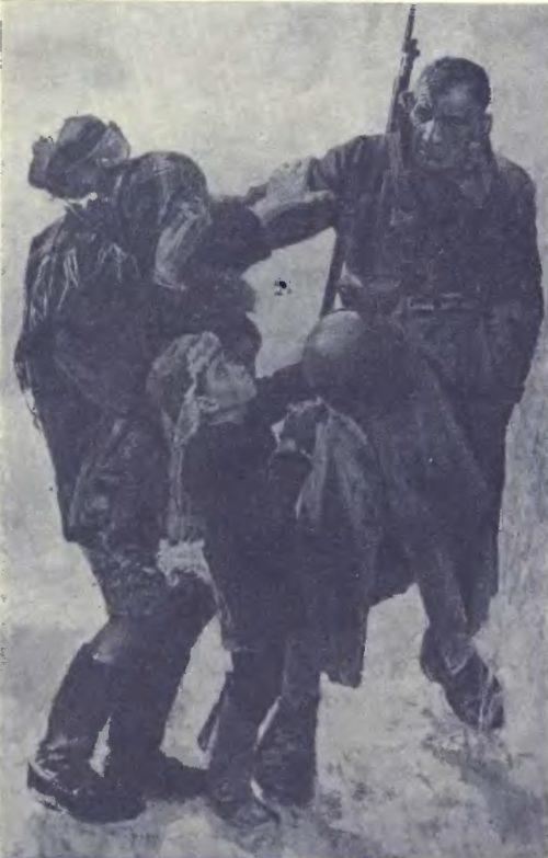 В. Сафронов. На фронт. Из цикла «Ценою жизни». Масло. 1974.