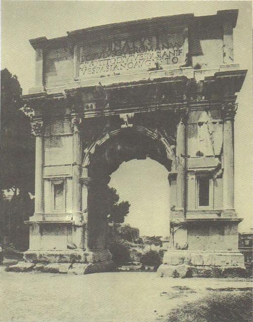 Арка императора Тита. Мрамор. 81 г. н. э. Рим.