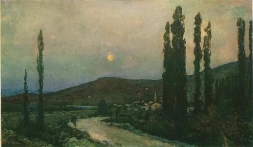 А. Куприн. Беасальская долина. Масло. 1937.