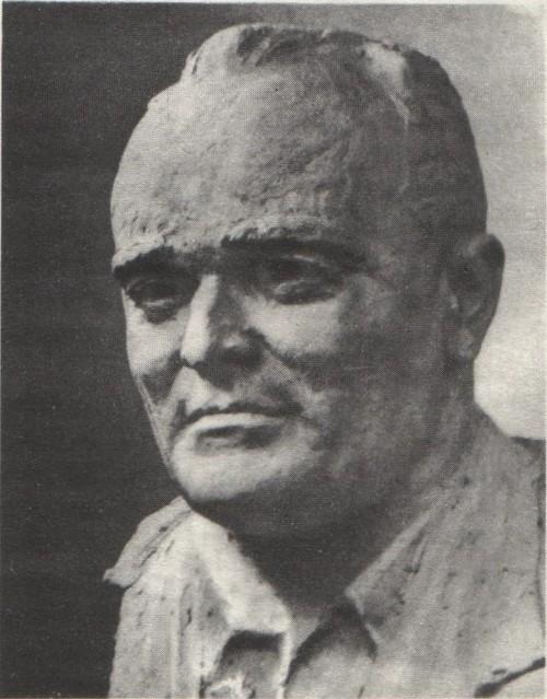 А. Файдыш. Портрет академика С. П. Королева. Бронза. 1963—1966.