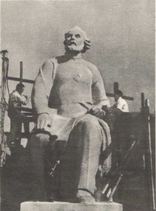 Скульптор Андрей Петрович Файдыш