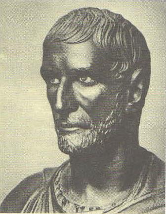 Бюст так называемого Брута. Бронза. Первая половина III в. до н. э.