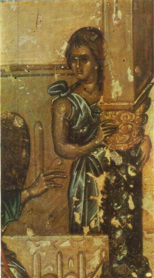 Византийская икона Благовещение 2