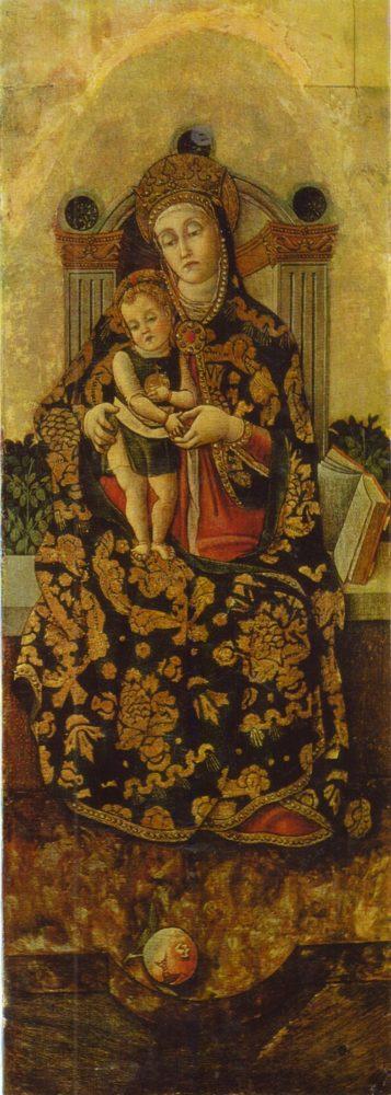 Витторе Кривелли Мадонна с младенцем в окружении святых 2