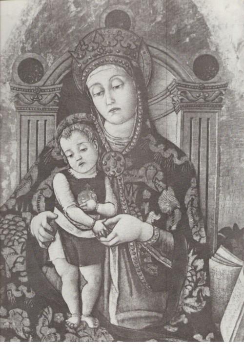 Витторе Кривелли Мадонна с младенцем