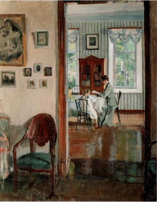 В доме . 1910