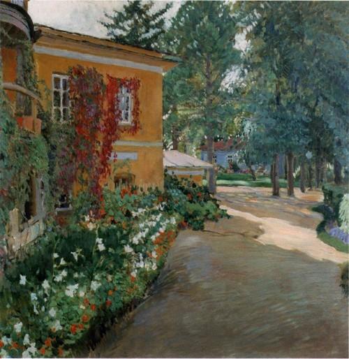 В усадьбе . 1910