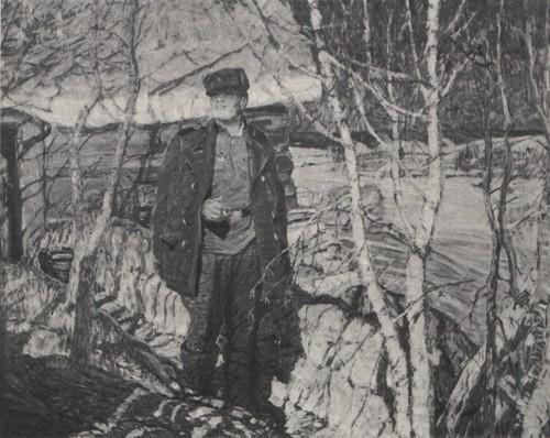 В. Дмитриевский. Дома. 1967.